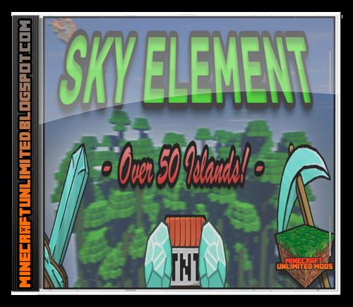 Sky Element Mapa Minecraft
