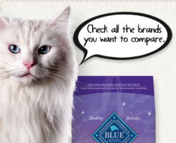 Bluebuffalo Cat Food Lb Bag