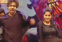 Karthik and Shreya are performing in Western Round – Jodi No 1 Season 8