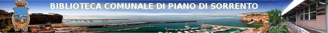 Biblioteca Comunale della Città di Piano di Sorrento Provincia di Napoli