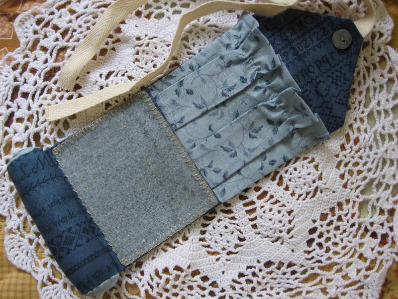 The sanguine stitcher anni downs pin cushion for Garden club book by blackbird designs
