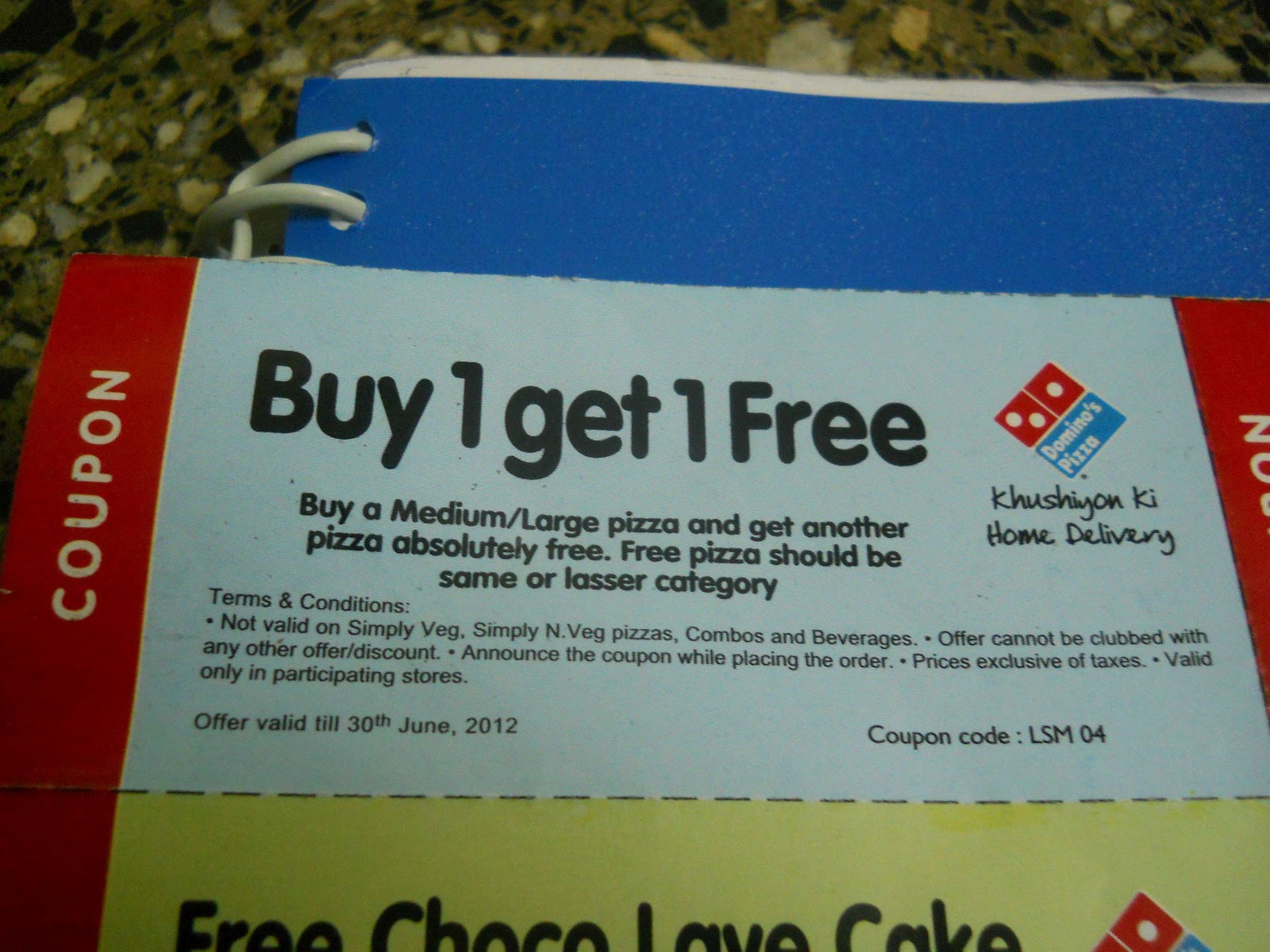 Dominos discount coupons buy 1 get 1 free