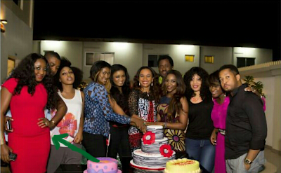 Ini Edo And Stephanie Okereke Pregnant?