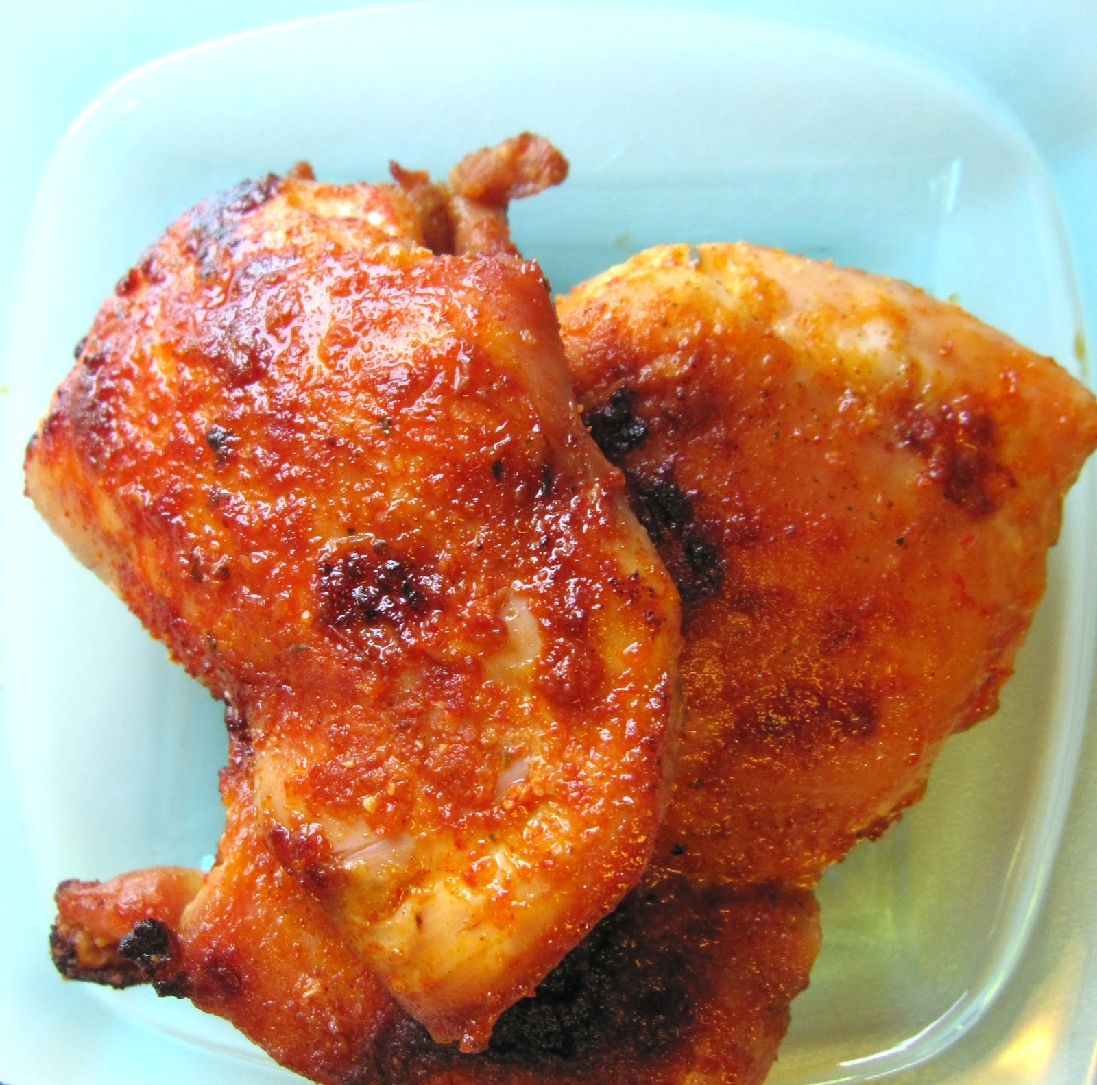 Chicken with smoked paprika