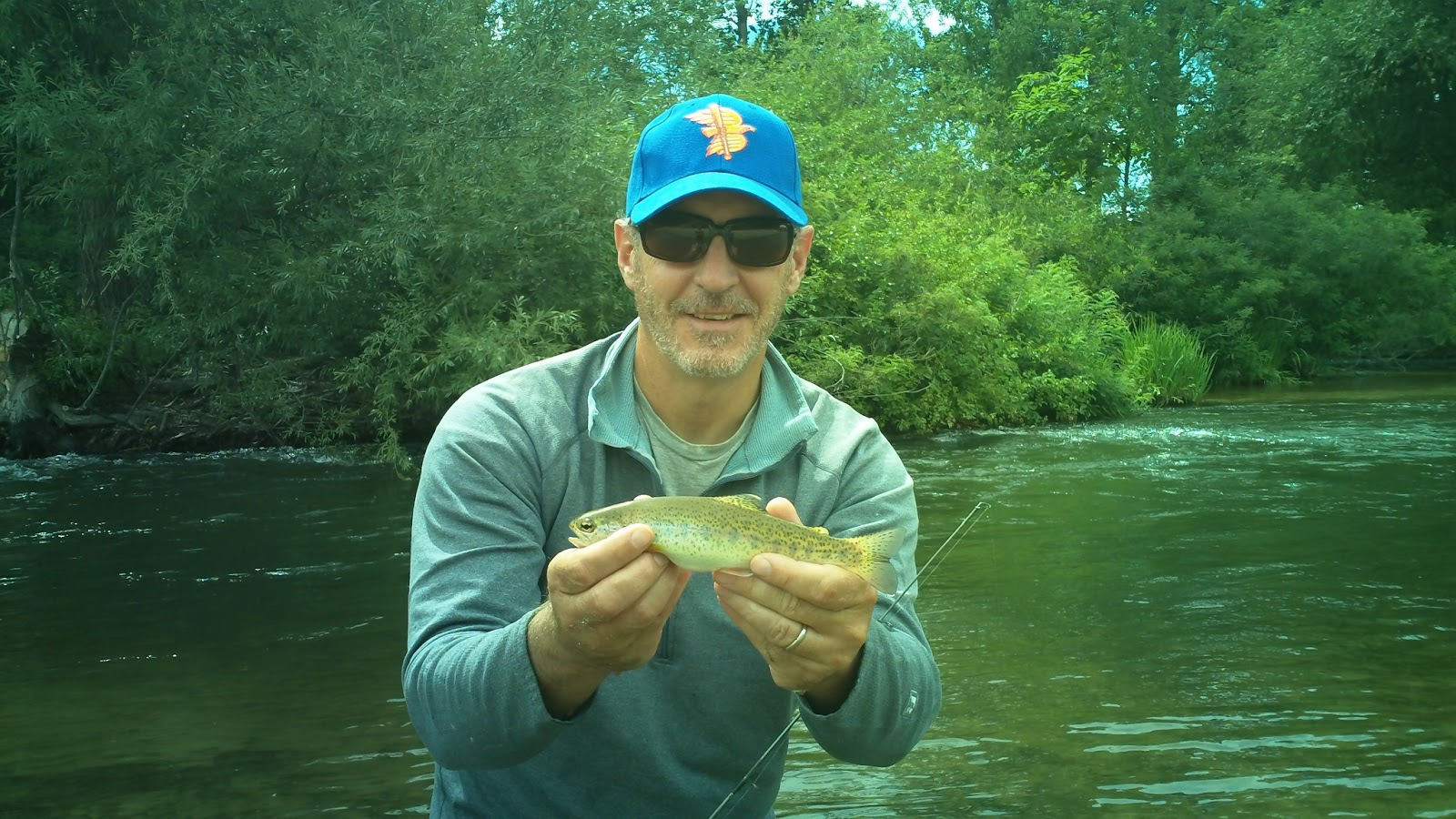 Scott hopper 39 s blog in search of the cutty rain brown a for Hank patterson fly fishing