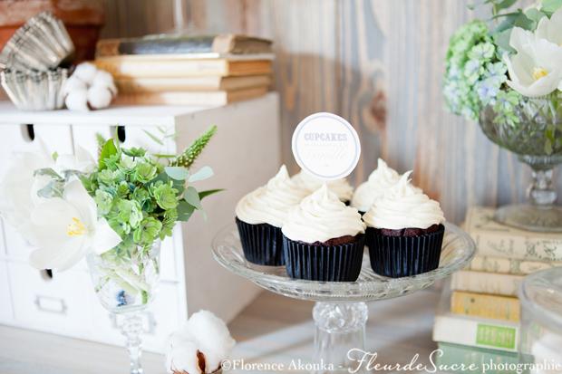 ambiance décoration mariage dessert vanille