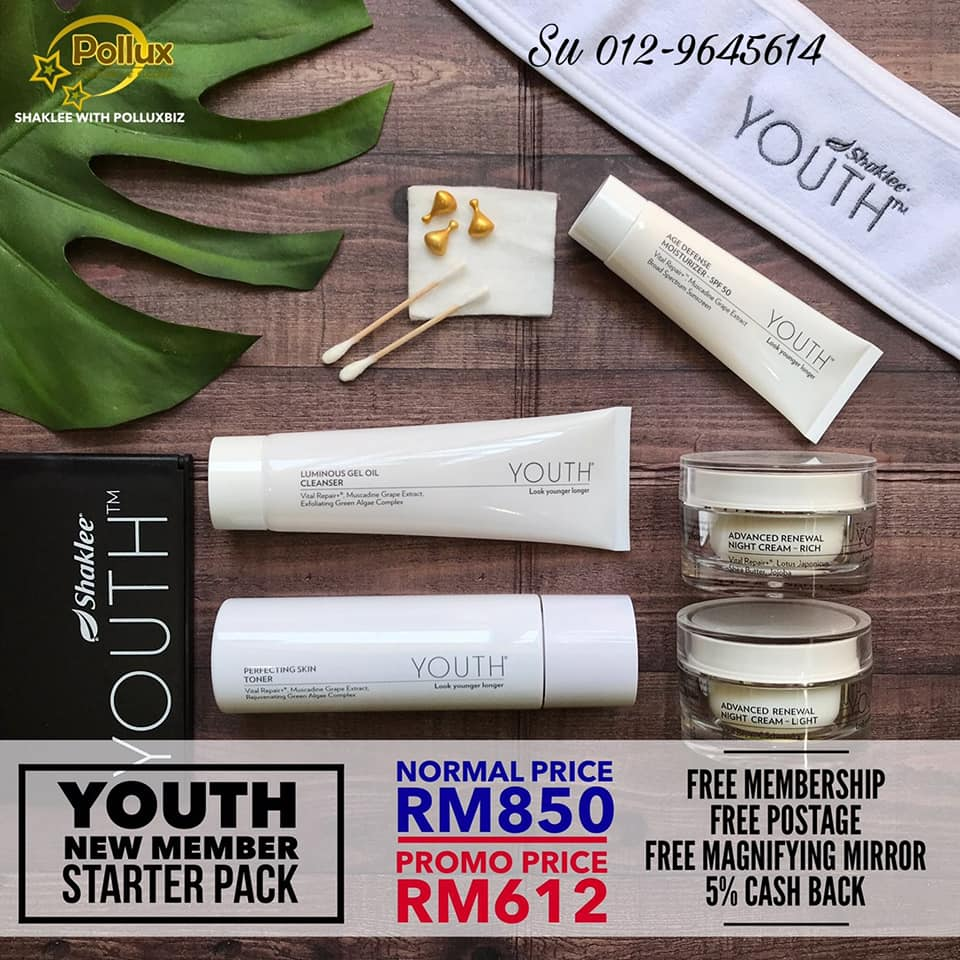 YOUTH SKINCARE STARTER SET PROMO