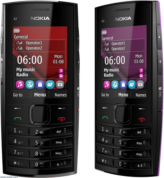 Nokia X2-02 Games,Themes and Applications