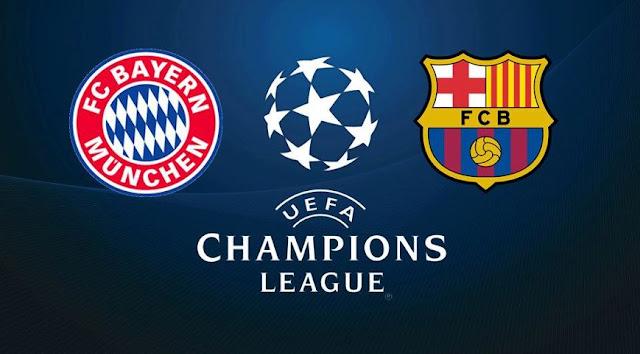مشاهدة , مباراة , برشلونة, بايرن ميونخ, دوري أبطال أوروبا, برشلونة , البايرن