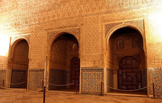 Alhambra Is a Historical Palace In Spain