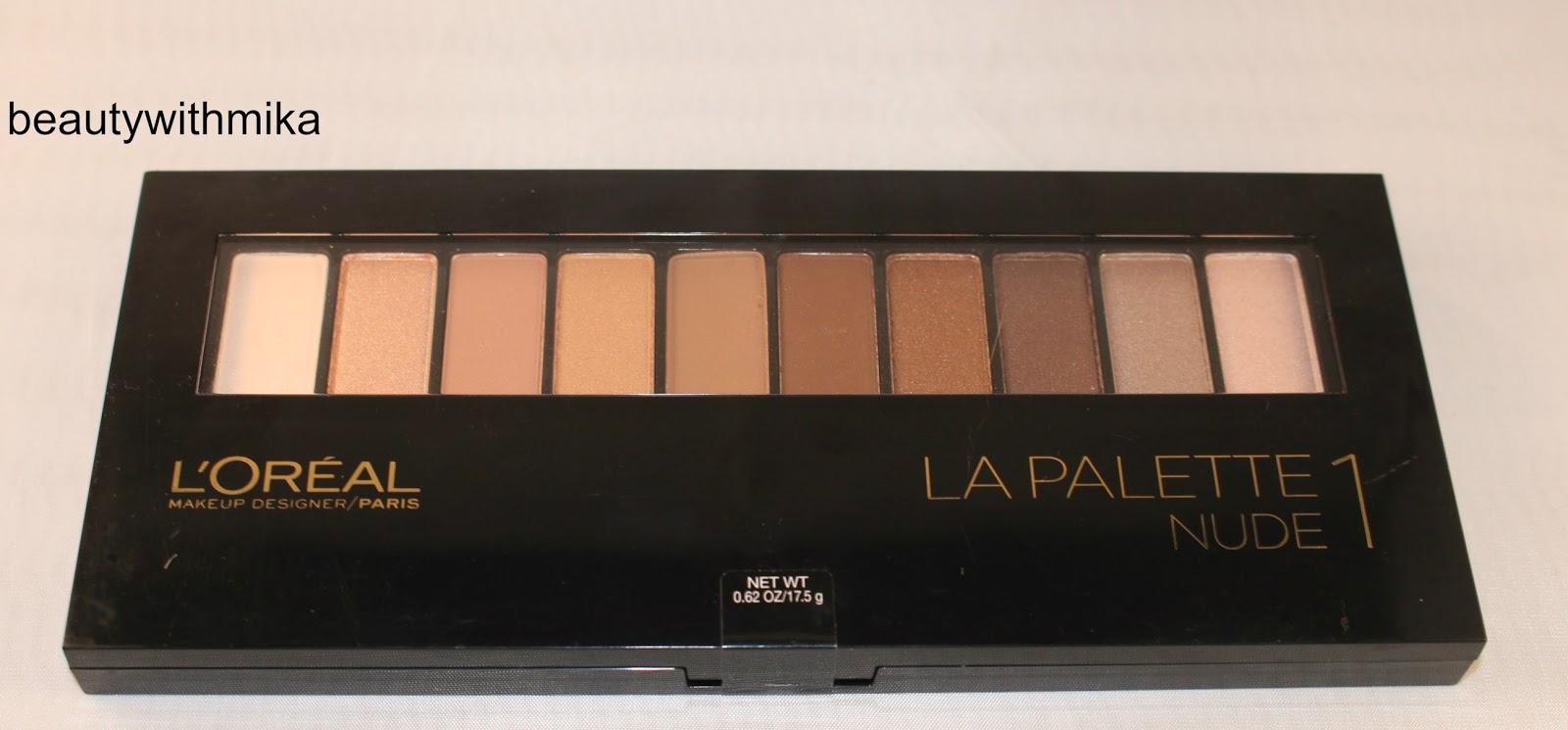 Quick Look: LOreal Colour Riche La Palette Nude 2