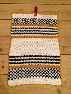 hæklet håndklæde