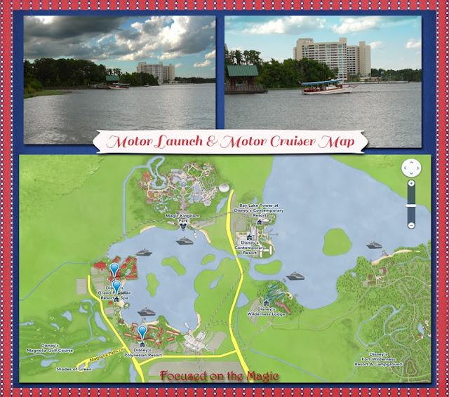 Motor Launch & Motor Cruiser Map