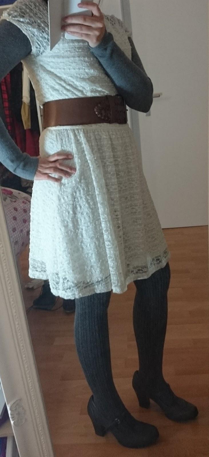 Sommerkleid im Winter