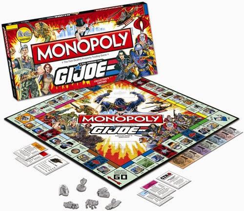 Juego de Mesa Monopoly G.I.Joe