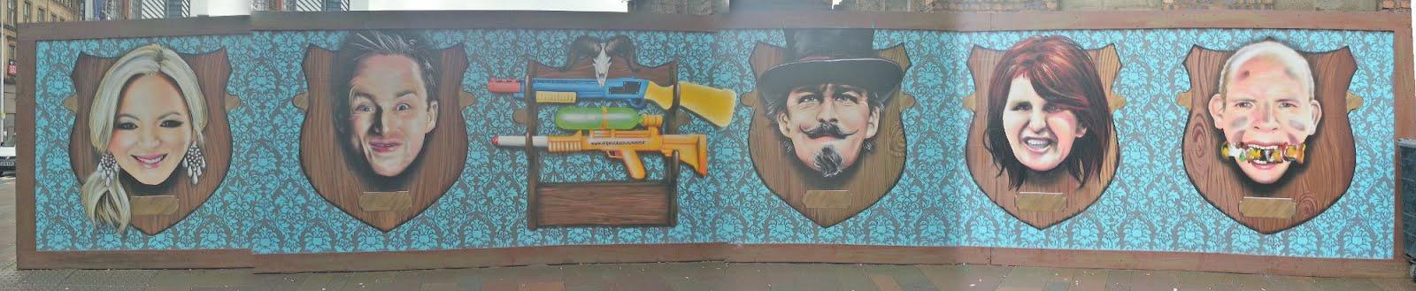 Argyle St Mural, Glasgow