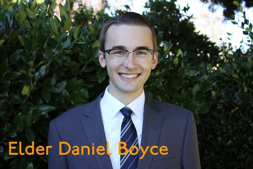 Elder Daniel Boyce