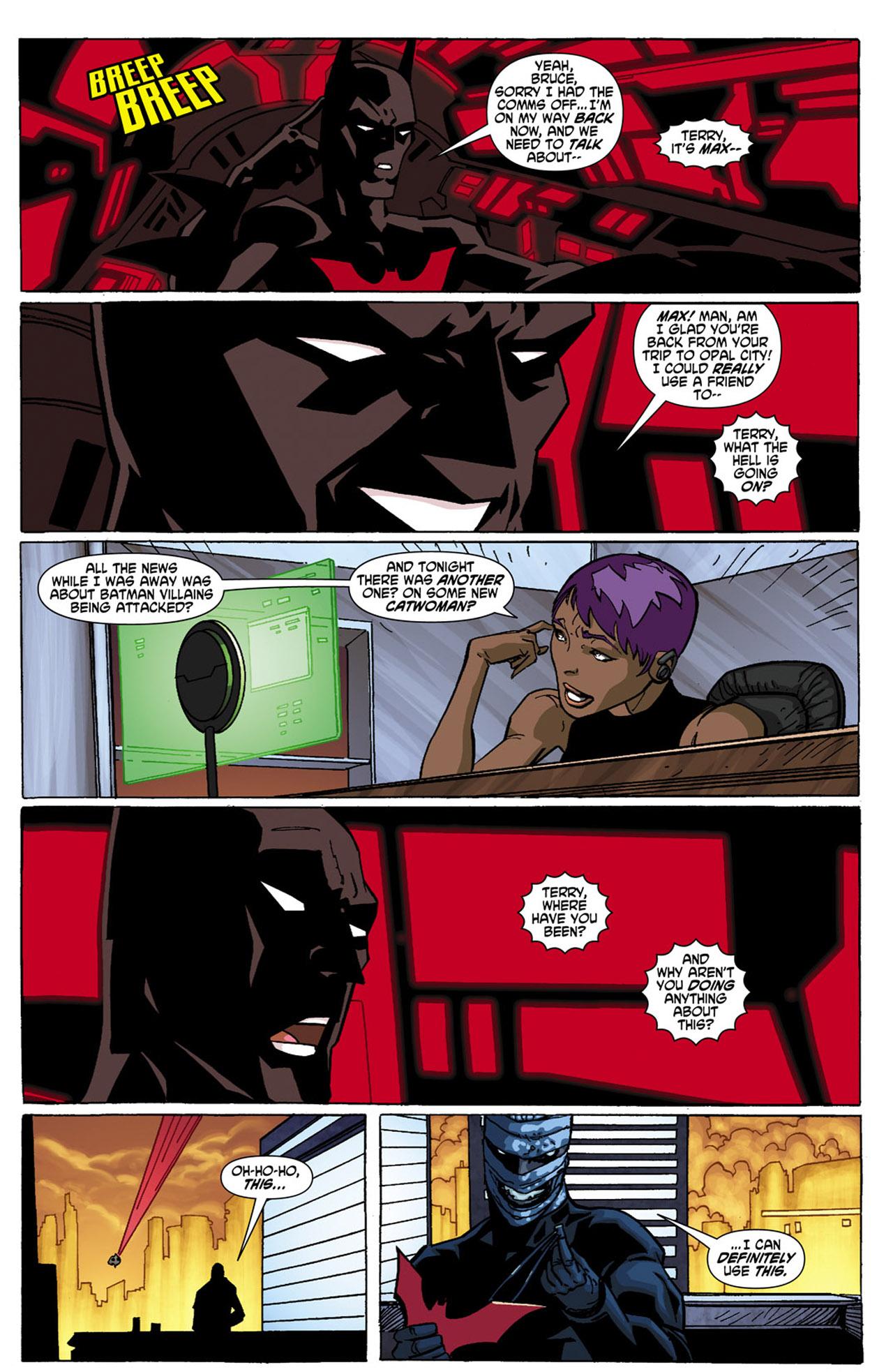 Batman Beyond (2010) Issue #4 #4 - English 17