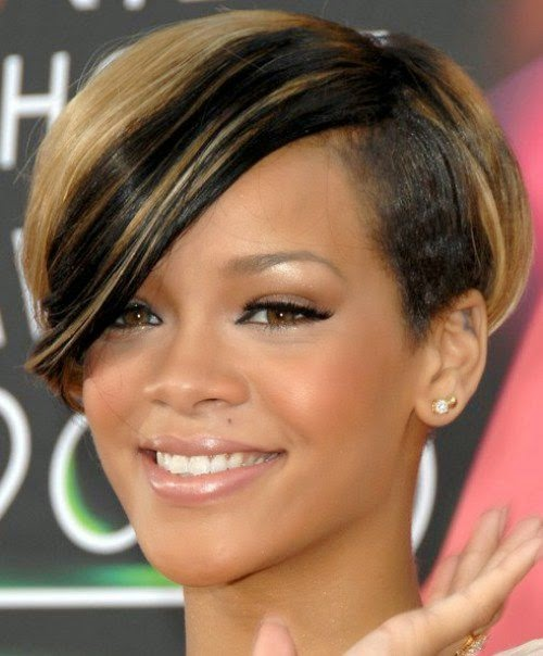 Latest Rihanna Hairstyles 2015 Ideas