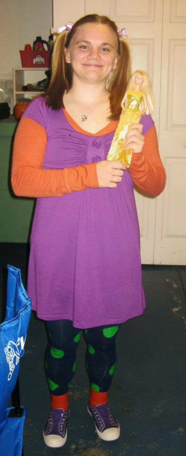 Angelica rugrats costume