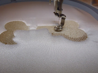 machine embroidery steps