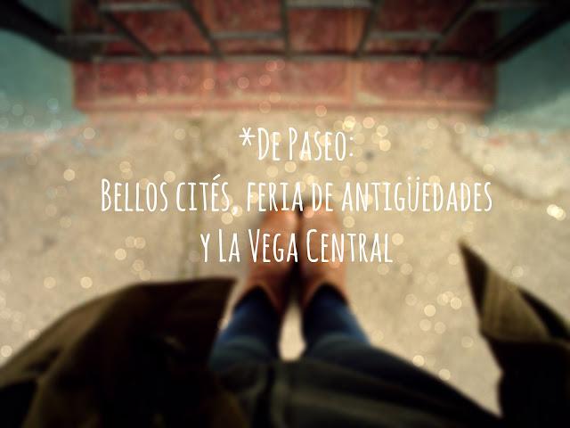 *De Paseo: Bellos cités, feria de antigüedades y La Vega Central.