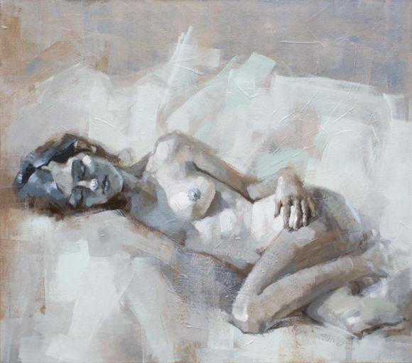 Renata Domagalska pinturas mulheres impressionistas nuas sensuais