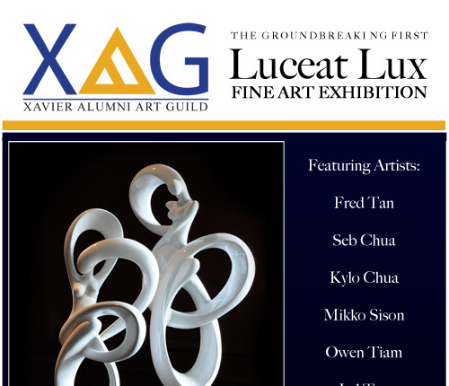 XAG - The Luceat Lux Groundbreaking Fine Art Exhibition on April 30, 2011 - Presented by the Xavier Alumni Art Guild