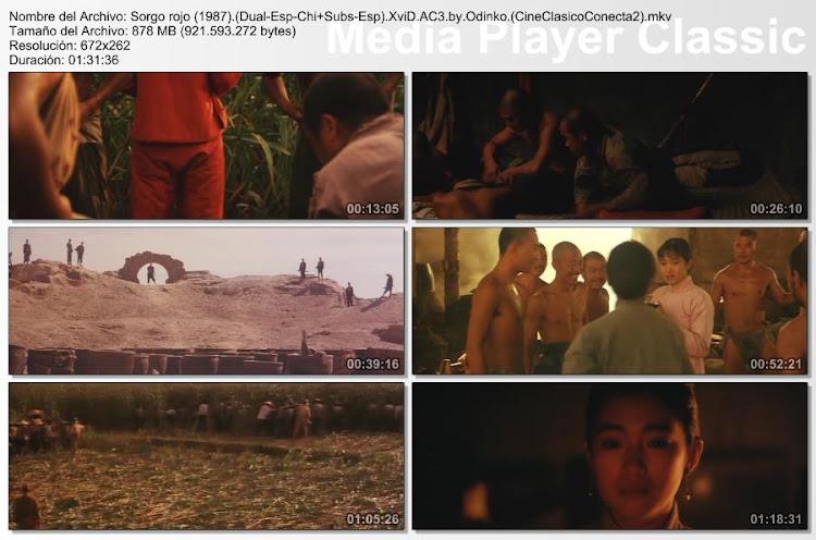Capturas de pantalla: Sorgo rojo | 1988 | Hong gao liang (Red Sorghum)