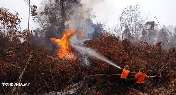 Bomba Malaysia sedia bantu Indonesia padam kebakaran hutan