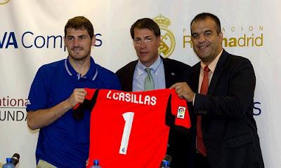 Iker Casillas at Houston