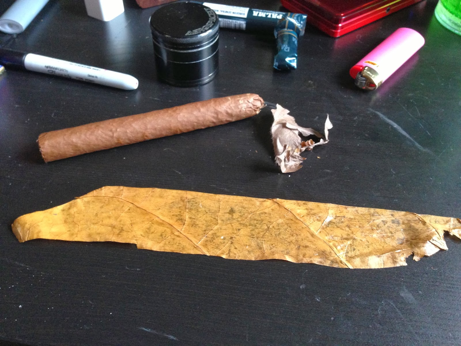 What is the purpose of cancer paper on cigars?