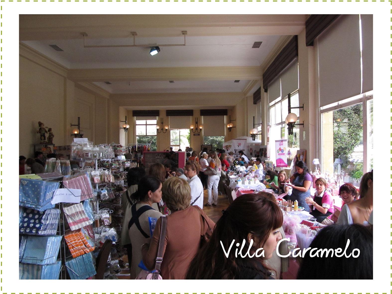 Villa caramelo expo tiempo para nosotras 2012