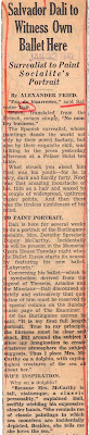 San Francisco Examiner Clipping. Courtesy of the San Francisco History Center, San Francisco Public Library.