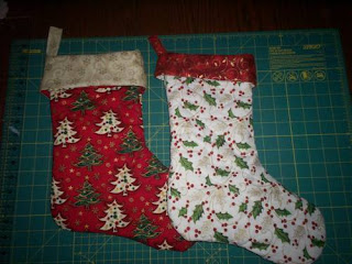 sewing patterns: christmas stocking tutorial