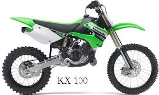 2011 Kawasaki KX 100