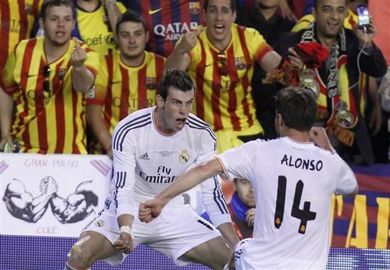 Gareth Bale (1-2) Final de la Copa del Rey 2014 - 16/04/2014