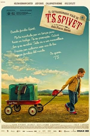 Poster The Young and Prodigious T.S. Spivet 2013