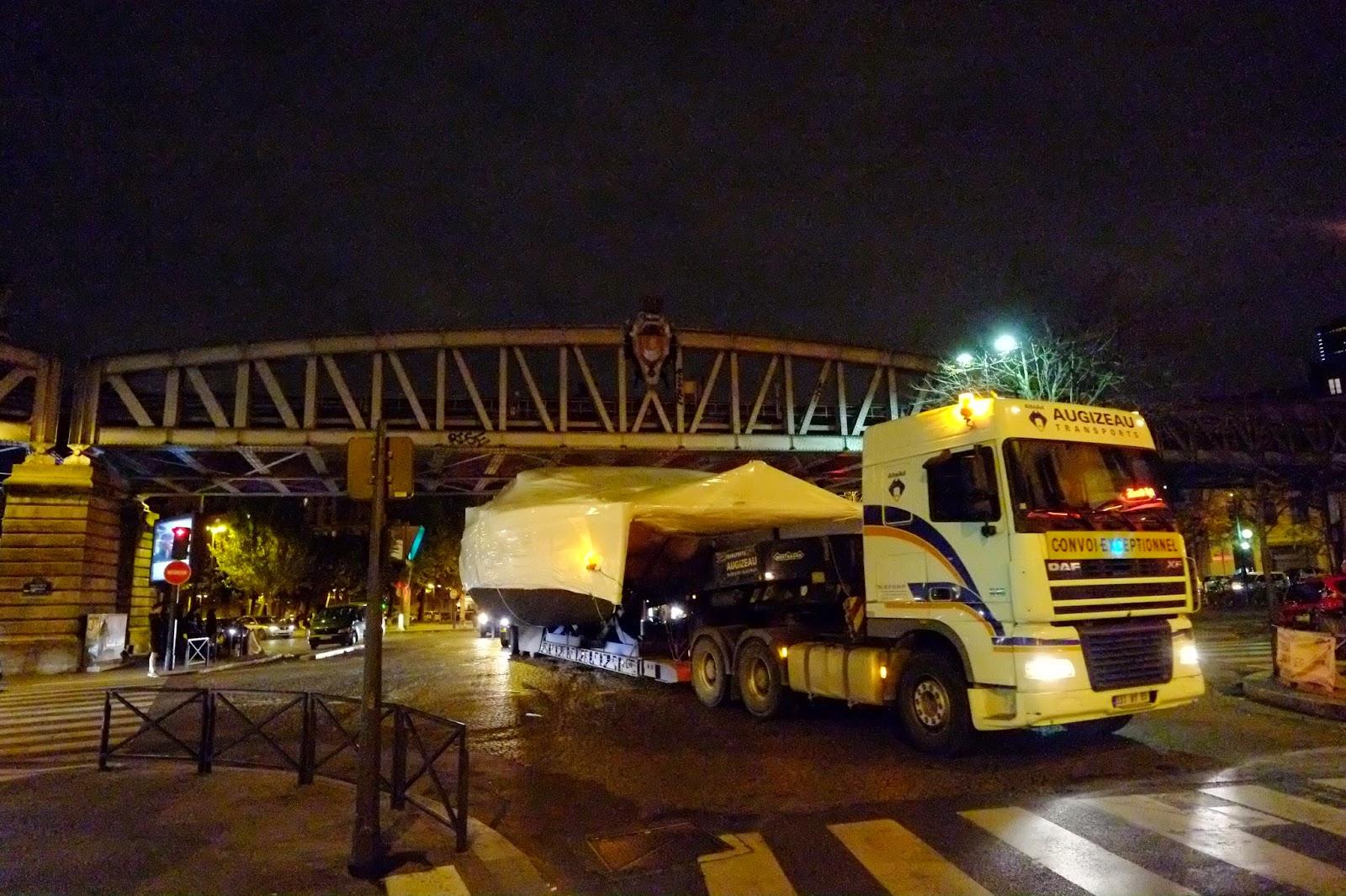 Les bateaux du Nautic bientot dans Paris !