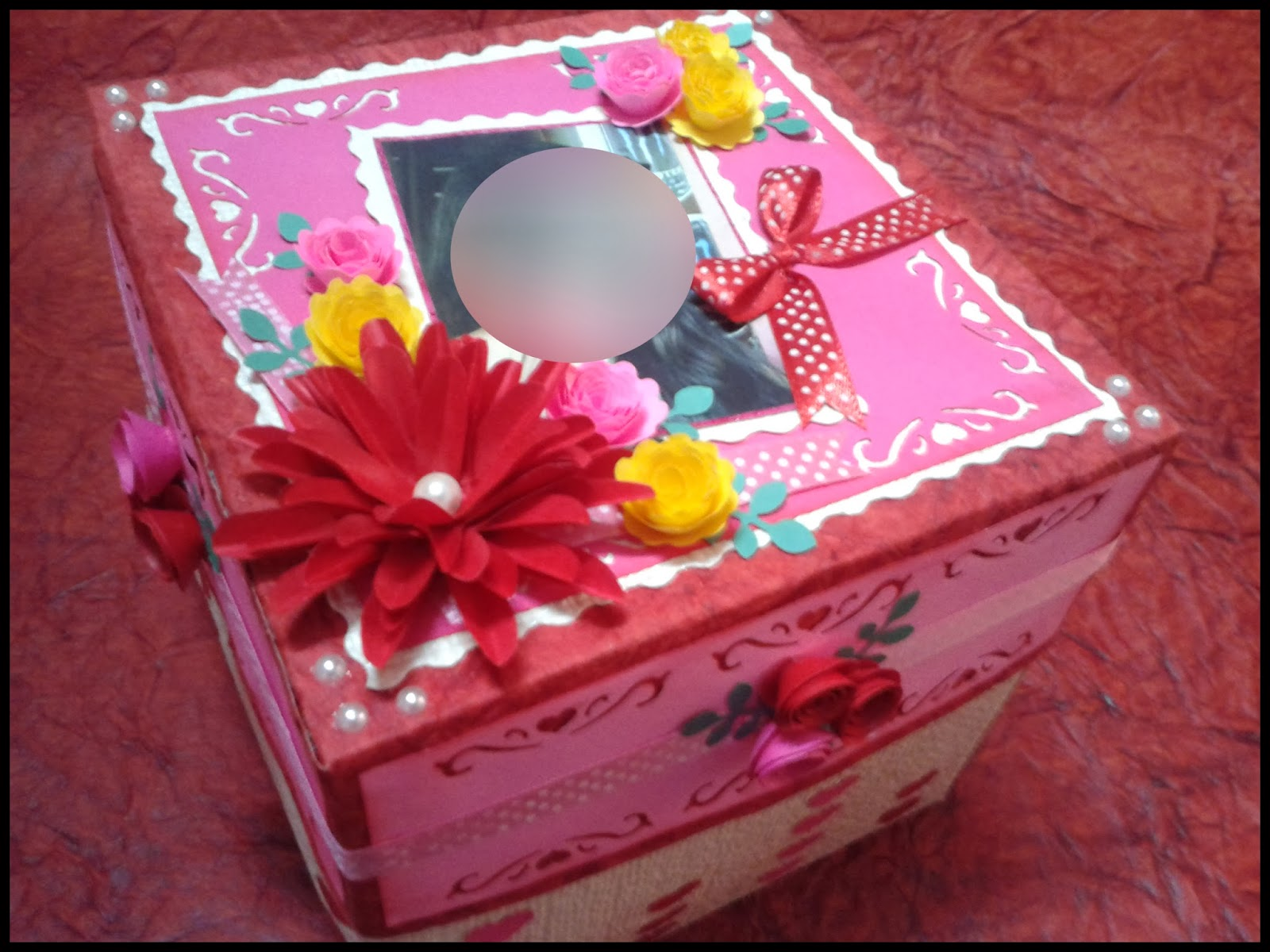 lina u0026 39 s handmade cards  explosion box for valentines day