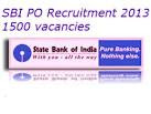 CLICK FOR SBI PO 2013