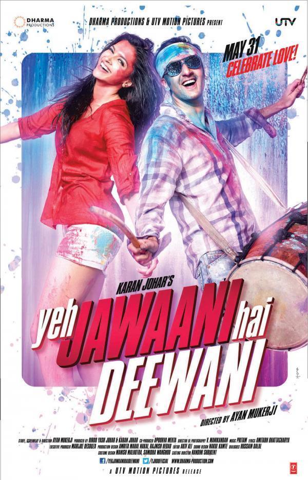 xem phim Tuổi Trẻ Rực Lửa - Yeh Jawaani Hai Deewani (2013) full hd vietsub online poster