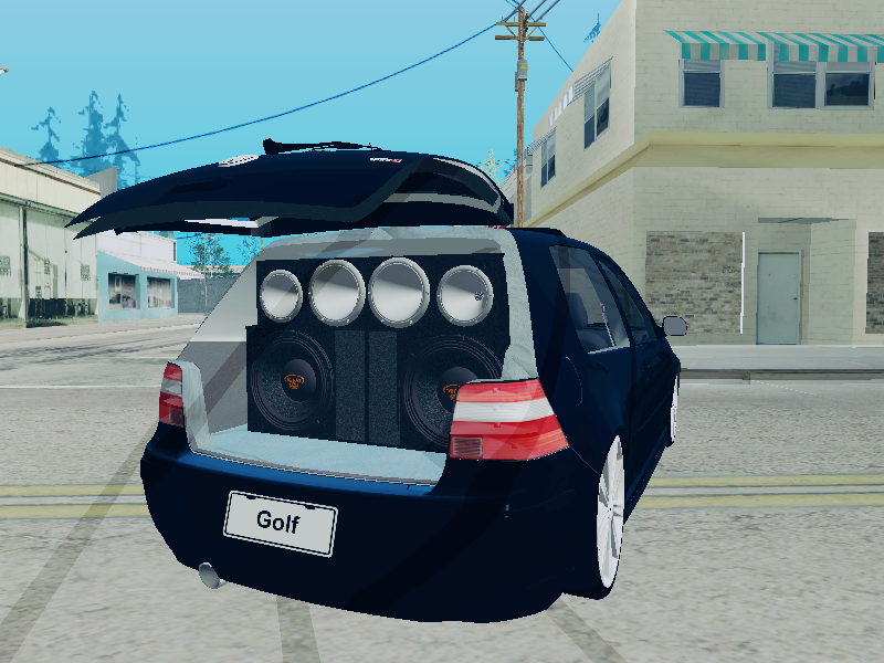 GTA SA - Volkswagen Golf  MKIV GTI VR6 2003 + TSW Devine