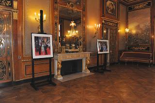 La Villa Masséna à Nice, le style Empire sur la côte d'Azur. Obama-nice-3