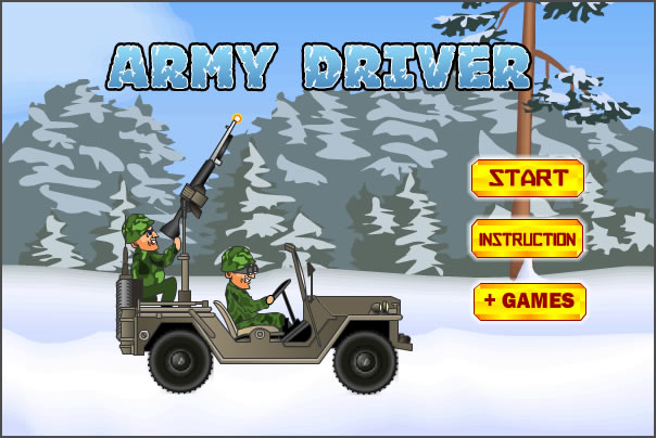 Truck Game : Army Driver