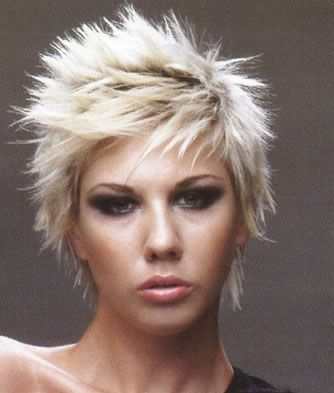 Short Bob Hairstyles: Short Spiky Hairstyles Pictures