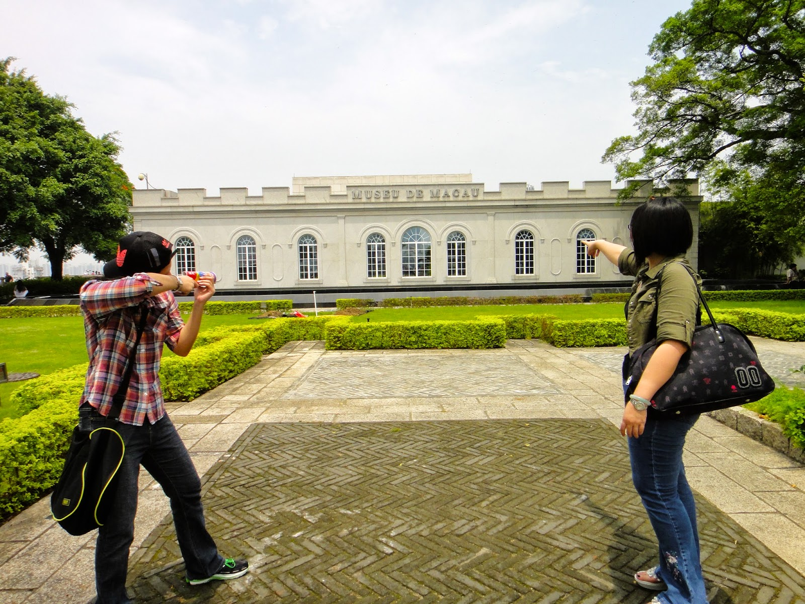 Travel to Monte Fort Macau