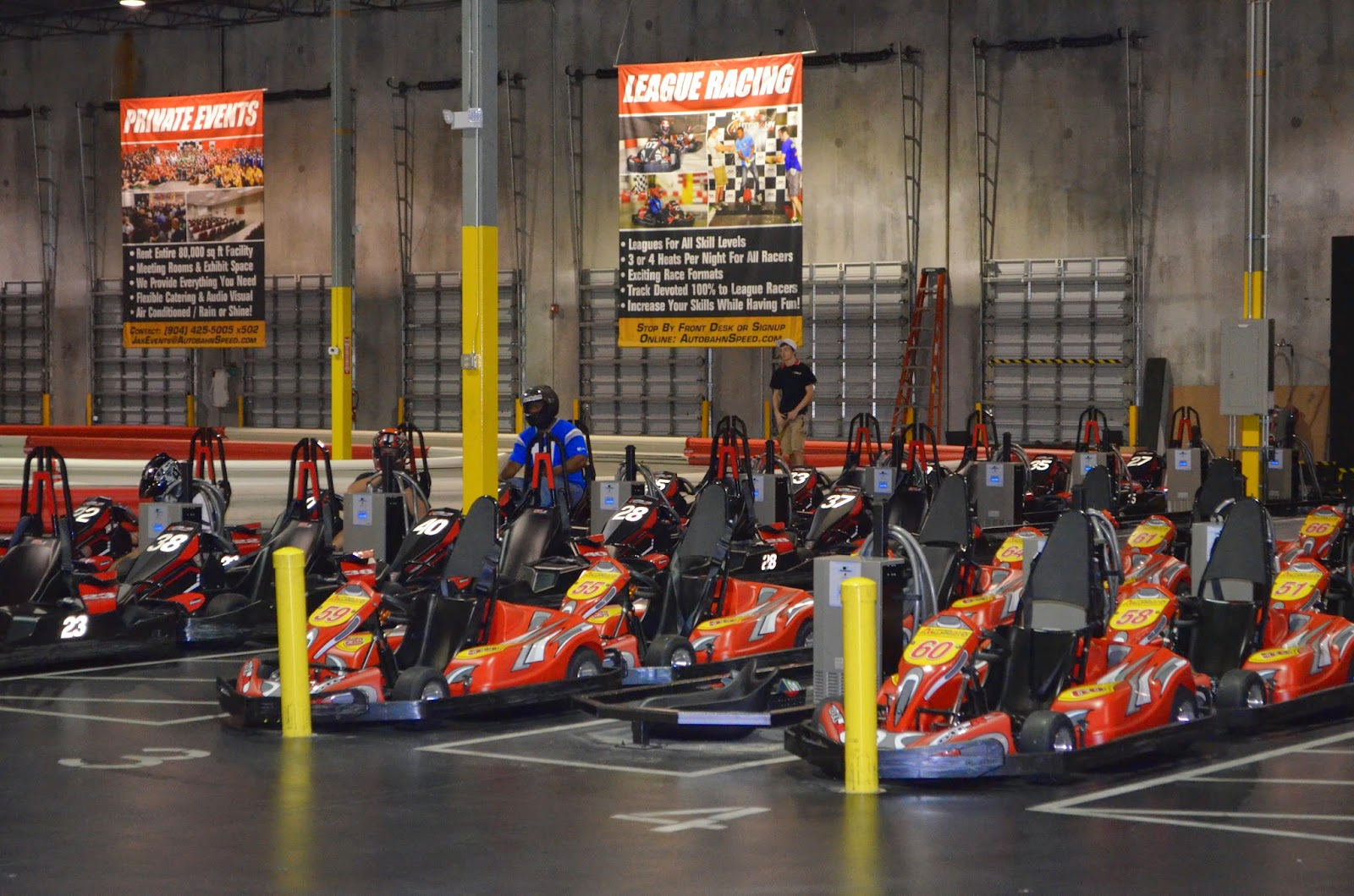 Go Karts Jacksonville Fl >> Race A High Speed Go Kart For The Military At The Brand New Autobahn