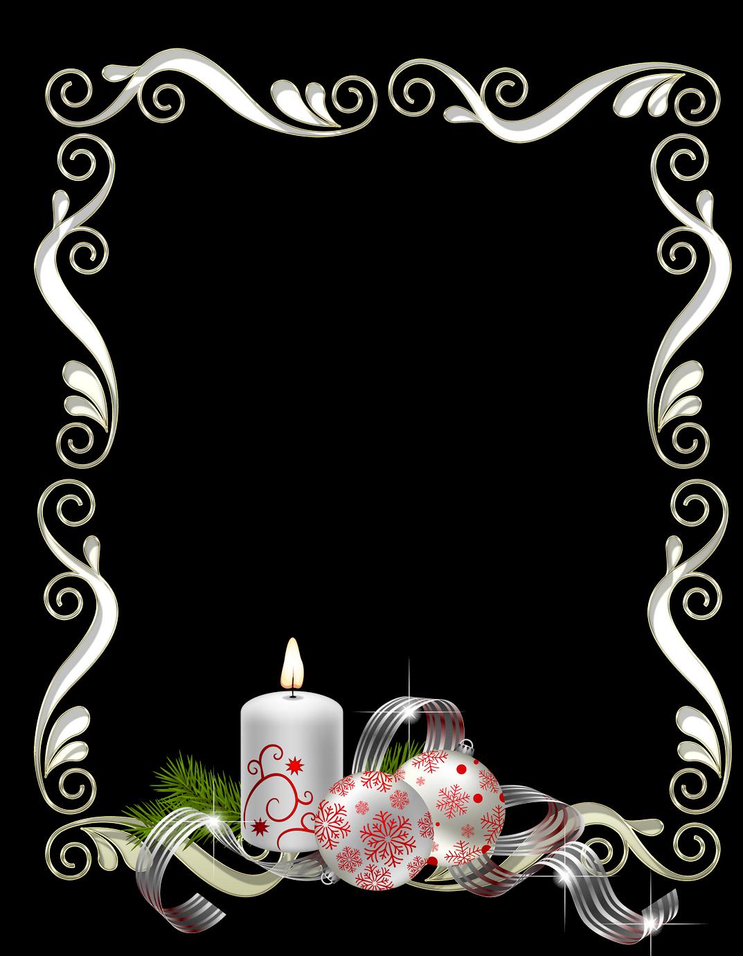 Bordes y marcos de fotos de navidad y a o nuevo marcos gratis para fotograf as - Marcos para fotos decoracion ...