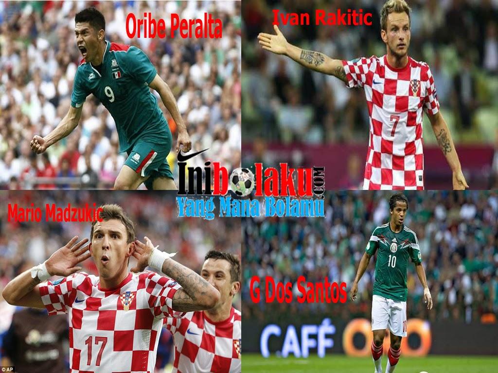 Pemain Yang Berkemungkinan Mencetak Gol Di Pertandingan Kroasia Vs Mexico